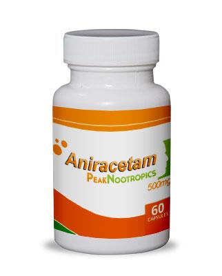 Photo of Aniracetam bottle