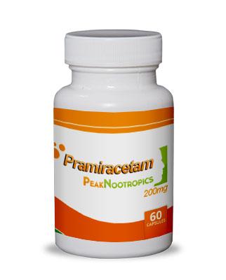Photo of pramiracetam bottle