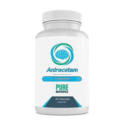 Pure Nootropics Aniracetam bottle