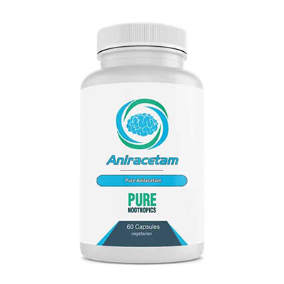 Pure Nootropics Aniracetam bottle
